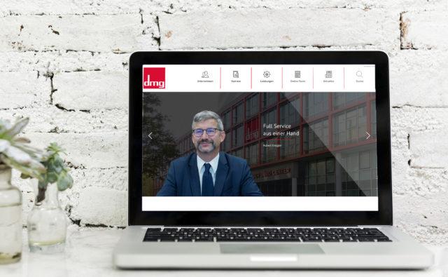DMG - Inhalte für neue Webseite von Show And Tell | Mag. Sarah Halbeisen